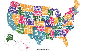 America Map Wallpapers