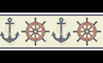 Anchor Wallpaper and Border