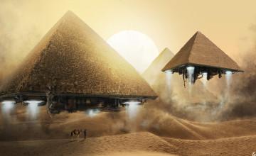 Ancient Aliens Desktop Wallpaper