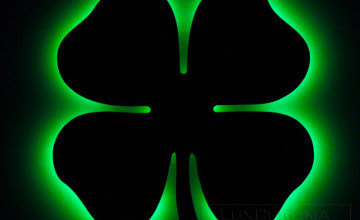 Android 4 Leaves Clover Wallpapers