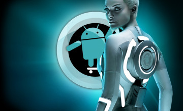 Android Girl Wallpaper