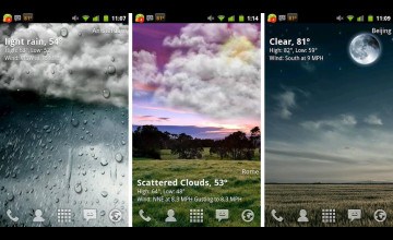 Android Live Weather Wallpaper