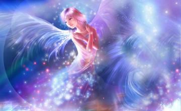 Angel Fairies Wallpaper