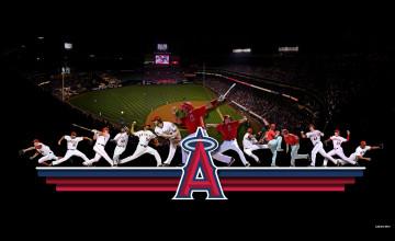 Angels Baseball Screensavers and Wallpaper