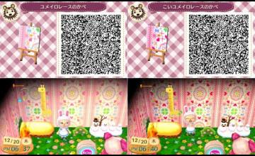 Animal Crossing Wallpaper Qr Codes Blue Wallpapershit