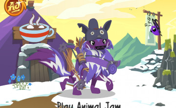 Animal Jam Arctic Wolf Wallpaper
