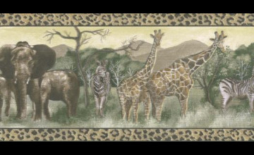 Animal Wallpaper Borders