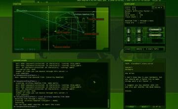 Animated Hacker Wallpaper