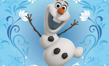 Animated Olaf Wallpaper