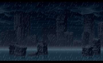 Animated Pixel Wallpaper