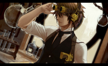 Animated Steampunk Wallpaper