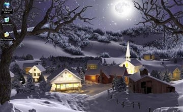 Animated Winter Screensavers and Wallpapers