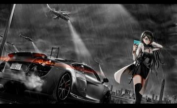 Anime Cars Desktop Wallpapers
