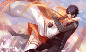Anime Hug Wallpaper