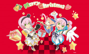 Anime Merry Christmas 2020 Wallpapers