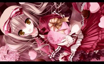 Anime Valentine\'s Day Wallpaper