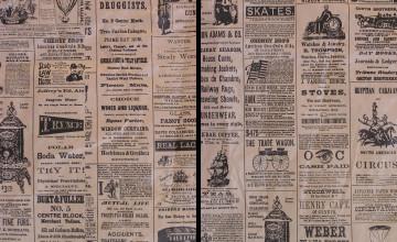 Antique Newspaper Wallpaper