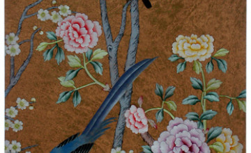 Antique Oriental Wallpaper