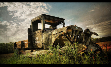 Antique Truck Wallpaper