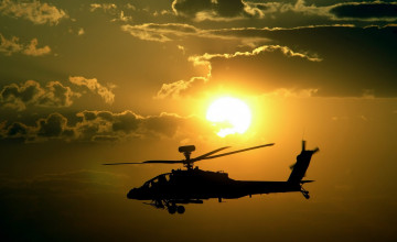 Apache Helicopter Wallpaper