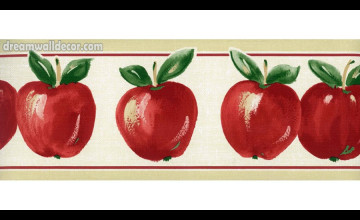 Apple Wallpaper Border
