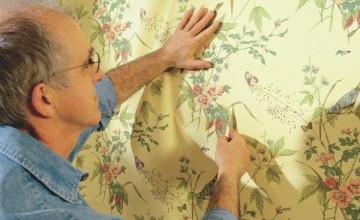 Applying Prepasted Wallpaper