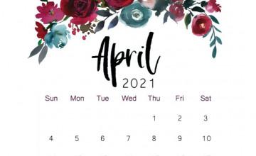 April 2021 Calendar Wallpapers