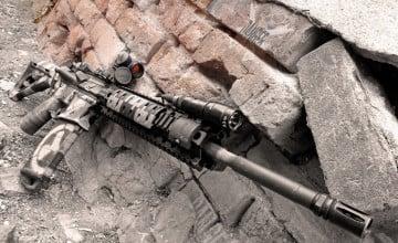AR 15 Wallpaper Widescreen