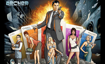 Archer FX Wallpaper
