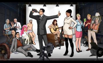 Archer Season 6 Wallpaper