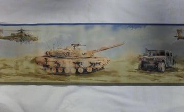 Army Wallpaper Border