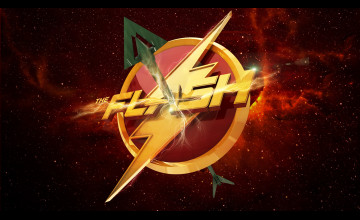 Arrow and Flash HD Wallpaper