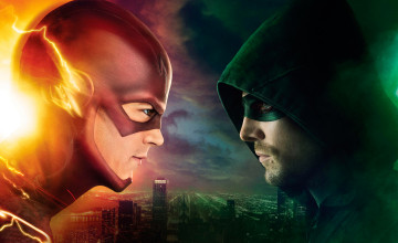 Arrow and The Flash Wallpaper