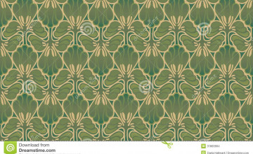 Art Nouveau Wallpaper for Walls