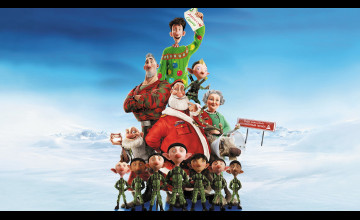 Arthur Christmas Movie Wallpapers