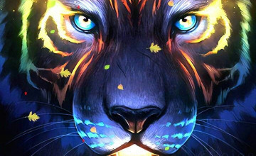 Artistic Tiger Wallpapers