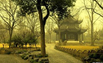 Asian Nature Desktop Wallpaper