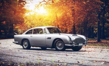 Aston Martin DB5 Wallpaper