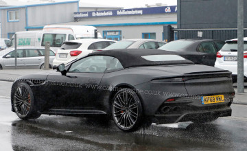 Aston Martin DBS Superleggera Volante Wallpapers