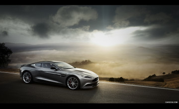 Aston Martin Vanquish 2016 Wallpaper