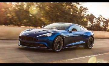 Aston Martin Vanquish 2017 Wallpaper