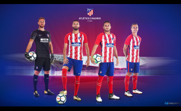 Atlético Madrid 2018 Wallpapers