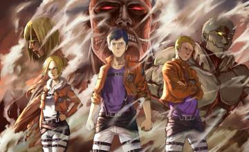 Attack on Titan Annie Wallpaper