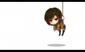 Attack On Titan Chibi Wallpapers HD