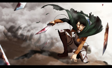 Attack on Titan Wallpaper Levi