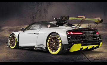 Audi R8 LMS GT2 Sports Car Wallpapers