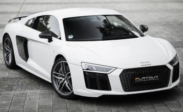 Audi R8 Weiß
