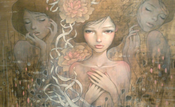 Audrey Kawasaki HD Wallpaper