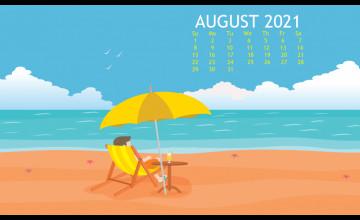 August 2021 Calendar Wallpapers