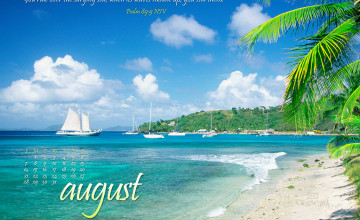 August Screensavers and Wallpaper